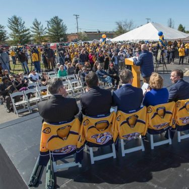 Preds to Break Ground on Preds Ice Center in Bellevue this Friday